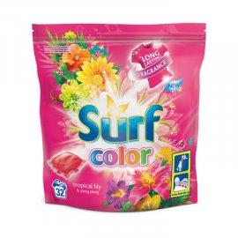 Kapsułki do prania kolor 15 szt. Surf tropikalna lilii i ylang ylang