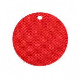 Podkładka silikonowa czerwona pod garnek 19,5 Tadar