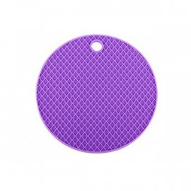 Podkładka silikonowa fioletowa pod garnek 19,5 Tadar