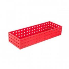 Uniwersalny organizer czerwony 32x11x6,5 Confetti Tadar