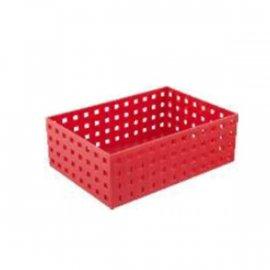 Uniwersalny organizer czerwony 22x15,5x9 Confetti Tadar