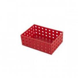 Uniwersalny organizer czerwony 15,5x11x6,5 Confetti Tadar