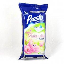 Presto 2w1 Uniwersalne o zapachu Magnolii 72 szt
