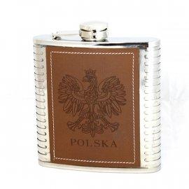 Piersiówka Polska stalowa 13,5x15
