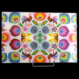 Deska szklana Folk kuchenna 30x20