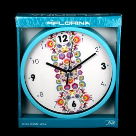 Zegar ścienny 20cm Folk Florina