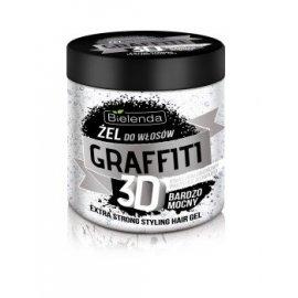 Graffiti 3D Żel do włosów BARDZO MOCNY Bielenda