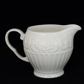 Mlecznik dzbanek na mleko ecru 13x8 cm