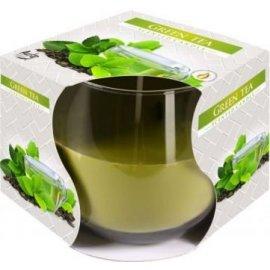 Świeca zapachowa w szkle Zielona herbata 24h Bispol