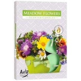 Podgrzewacz zapachowy Kwiatowa łąka Tealight 6szt Bispol