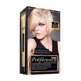 92 Bardzo Jasny Beżowy-Perłowy Blond Feria Preference Loreal