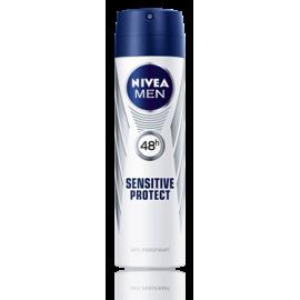 Antyperspirant Spray  Sensitive Nivea Men 150ml