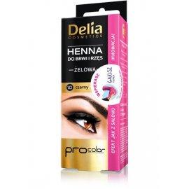Henna do brwi żelowa czarna Delia