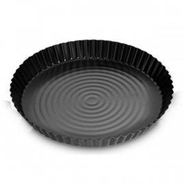 Forma Blacha do pizzy 30 fakturowana czarna non-stick SNB