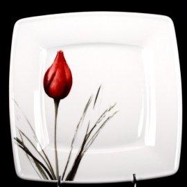 Talerz 28cm dek. 3830 Tulipan Victoria Lubiana