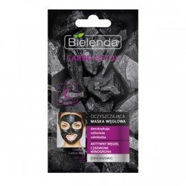 CARBO DETOX Oczyszczająca maska węglowa do cery dojrzałej Bielenda