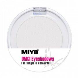 01 White Cień do oczu OMG! MONO EYESHADOW MIYO