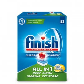 Tabletki do zmywarki Finish All in 1 Cytrynowy