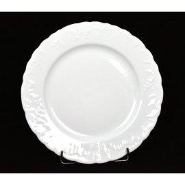 Talerz płytki biały 26cm Rococo Ćmielów