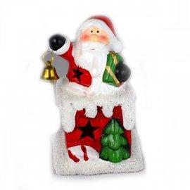 Figurka świecąca Mikołaj 12 cm