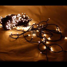 Lampki choinkowe 300 LED Ciepła Biel WW