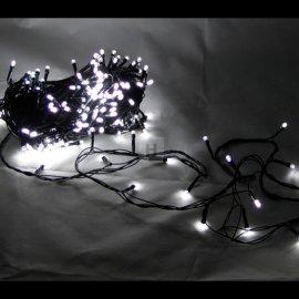 Lampki choinkowe 300 LED Białe Zimna biel