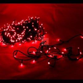 Lampki choinkowe 300 LED Czerwone bez efektów