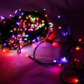 Lampki choinkowe 300 LED Multikolor bez efektów li-8