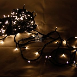 Lampki choinkowe 200 LED Ciepła Biel