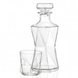 Kpl. do Whisky karafka i 6 szklanek Cassiopea Bormioli Rocca
