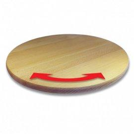 Deska drewniana obrotowa 35 cm Practic