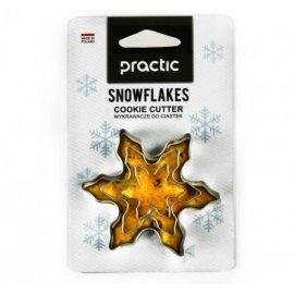 Foremki wykrawacze śnieżynki 3 szt. Practic