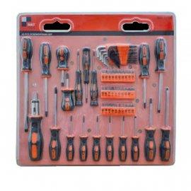 Kpl. wkrętów 65 szt. Mat Tools