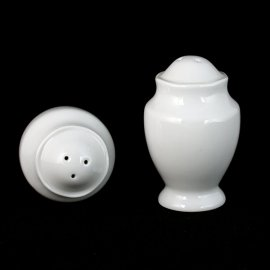 Posypywaczka solniczka/pieprzniczka Astra biała Chodzież