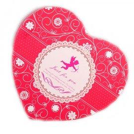 Pudełko Serce różowe Amorek 22,5x19x10,5 cm