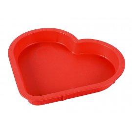 Forma silikonowa 29 na ciasta serce Walentynki