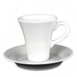 Filiżanka i spodek espresso Isabelle 10/12,5 Lubiana