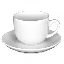 Filiżanka i spodek do espresso 10/12 Sonia biały Lubiana