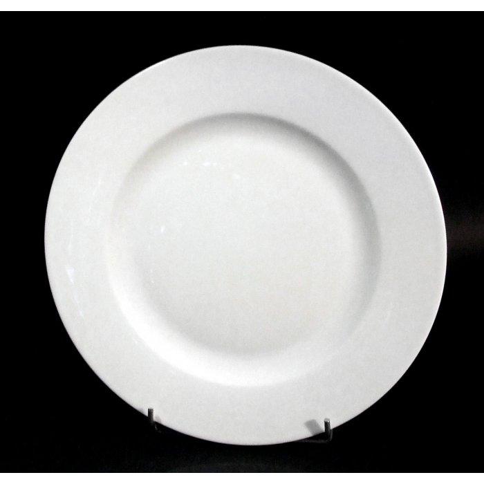 Talerz biały Kaszub 30,5cm Lubiana