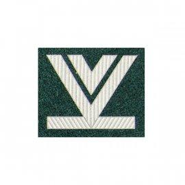 Oznaka WP Starszy Sierżant Sztabowy zielony dystynkcja