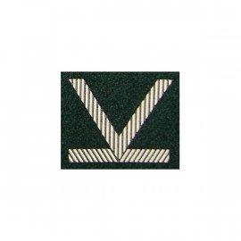Oznaka WP Sierżant Sztabowy zielony dystynkcja