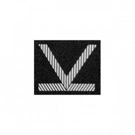 Oznaka WP Sierżant Sztabowy czarny dystynkcja