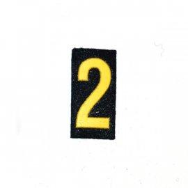 Oznaka WP dystynkcja Cyfra 2 MW
