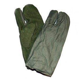 Rękawice brezentowe Wojskowe 3-palcowe