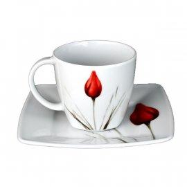 Filiżanka ze spodkiem 200/14,5 Victoria 3830 tulipan Lubiana