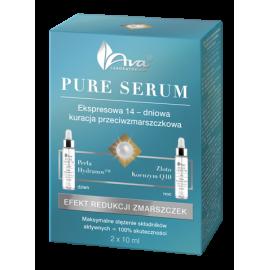 Kuracja - Efekt redukcji zmarszczek Pure Serum Ava ECO