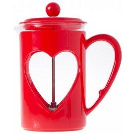 Zaparzacz Do Kawy Herbaty Ziół 800ml Czerwony Valentina Odelo