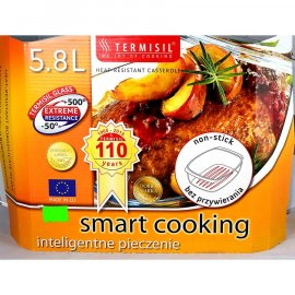 Brytfanna do pieczenia 5,8 l Termisil Żaroodporne smart cooking
