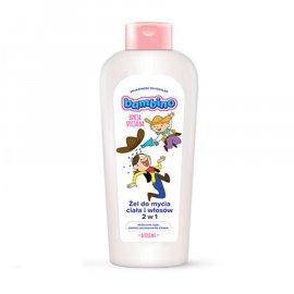 Żel do mycia ciała i włosów 2w1 Bolek i Lolek Bambino 400ml