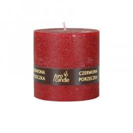 Świeca zapachowa Czerwona Porzeczka walec 75/75 Pro Candle